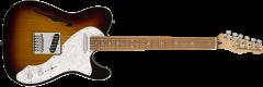 Fender Deluxe Tele Thinline  3-Color Sunburst Electric Guitar 147603300