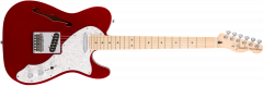 Fender Deluxe Tele Thinline  Candy Apple Red Electric Guitar 147602309