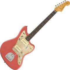 Fender Custom Shop 1959 Jazzmaster Journeyman Relic Electric Guitar Super Faded Aged Fiesta Red 9235000846