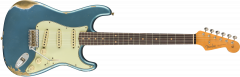 Fender Custom Shop 1959 Stratocaster Heavy Relic - Rosewood  Aged Lake Placid Blue Electric Guitar 9235000822