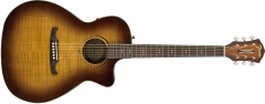 Fender FA-345CE Auditorium  3-Tone Tea Burst Acoustic Guitar 971343064
