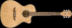 Fender FA-345CE Auditorium  Natural Acoustic Guitar 971343021