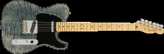 Fender Rarities Quilt Maple Top Telecaster  Blue Cloud Electric Guitar 176507887