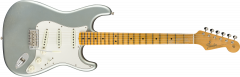 Fender Custom Shop 1965 Stratocaster Journeyman Relic - Maple  Faded Aged Ice Blue Metallic Electric Guitar 9235000828