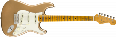 Fender Custom Shop 1965 Stratocaster Journeyman Relic - Maple  Faded Aged Firemist Gold Electric Guitar 9235000827