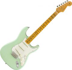 Fender Custom Shop 1965 Stratocaster Journeyman Relic Electric Guitar Faded Aged Surf Green 9235000830