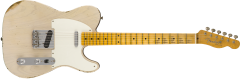 Fender Custom Shop 1954 Relic Telecaster  Aged White Blonde Electric Guitar 9235000526