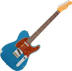 Fender Custom Shop 1961 Relic Telecaster Electric Guitar Aged Lake Placid Blue 1561790802
