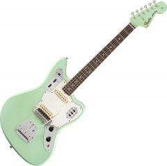 Fender Custom Shop 1964 Jaguar Lush Closet Classic Electric Guitar Aged Surf Green 9235000847