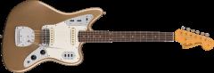 Fender Custom Shop 1963 Journeyman Relic Jaguar  Aged Shoreline Gold Electric Guitar 1509040844