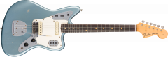 Fender Custom Shop 1963 Journeyman Relic Jaguar  Aged Blue Ice Metallic Electric Guitar 1509040883