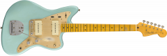 Fender Custom Shop 50's Journeyman Relic Jazzmaster  Faded Daphne Blue Electric Guitar 9235000535