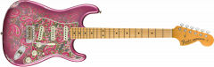 Fender Custom Shop Limited Edition '68 Paisley Strat Relic  Pink Paisley Electric Guitar 9235000742
