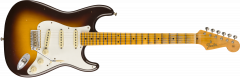 Fender Custom Shop Postmodern Stratocaster Journeyman Relic Maple  Wide-Fade Chocolate 2-Color Sunburst Electric Guitar 9235000881