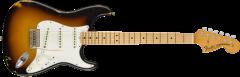 Fender Custom Shop 1968 Relic Stratocaster  Faded 3-Color Sunburst Electric Guitar 9235000519