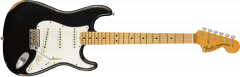 Fender Custom Shop 1968 Relic Stratocaster  Aged Black Electric Guitar 9235000518