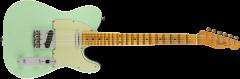 Fender Custom Shop Postmodern Telecaster Journeyman Relic  Surf Green over Black Electric Guitar 9235000899