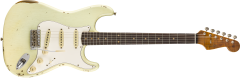 Fender Custom Shop Limited Roasted Tomatillo Strat Relic  Aged Tomatillo Green Electric Guitar 9235000877