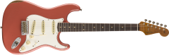 Fender Custom Shop Limited Roasted Tomatillo Strat Relic  Aged Tahitian Coral Electric Guitar 9235000875