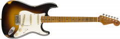 Fender Custom Shop 2019 Limited Roasted Tomatillo Strat Relic  Wide-Fade 2-Color Sunburst Electric Guitar 9235000872