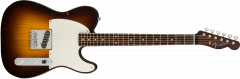 Fender Custom Shop Limited Edition Journeyman Relic '57 Esquire - Rosewood Neck  Wide-Fade Chocolate 2-Color Sunburst Electric Guitar 1545692803