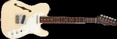 Fender Custom Shop Limited Edition Relic '50s Thinline Tele  Vintage Blonde Electric Guitar 1510500807