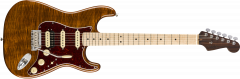 Fender Rarities Flame Maple Top Stratocaster  Golden Brown Electric Guitar 176504871