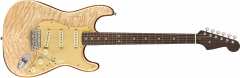 Fender Rarities Quilt Maple Top Stratocaster  Natural Electric Guitar 176500821