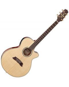 Takamine Thinline Series TSP138C N Acoustic Electric Guitar Natural Gloss sku number TAKTSP138CN