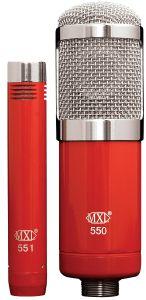 MXL 550/551R Microphone Ensemble MXL-550/551R