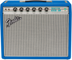 Fender Limited Edition '68 Custom Princeton Reverb - Electric Blue Tube Amp 2272000512
