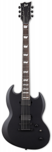 ESP LTD VIPER-400 Baritone Black Satin Electric Guitar B-Stock LVIPER400BBLKS.B