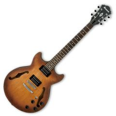 Ibanez Artcore AM73BTF Semi-Hollow Electric Guitar in Tobacco Flat Finish AM73BTF