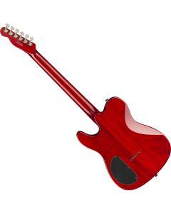 Fender Special Edition Custom Telecaster FMT HH Electric Guitar Crimson Red Transparent 0262004538