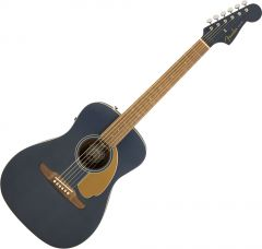 Fender Malibu Player Acoustic Guitar Midnight Satin 0970722050