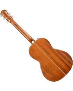 Fender PM-2 Parlor All-Mahogany Acoustic Guitar 0970320322