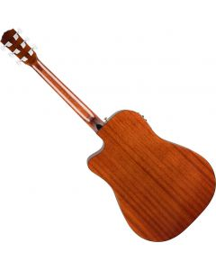 Fender CD-140SCE Dreadnought All-Mahogany Acoustic Guitar 0970213322
