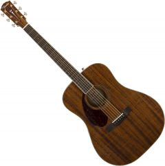 Fender PM-1 Dreadnought All-Mahogany Left Hand Acoustic Guitar Natural 0960371221