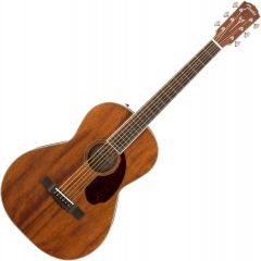Fender PM-2 Parlor All Mahogany Acoustic Guitar Natural 0960299221
