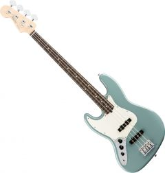 Fender American Pro Jazz Bass Electric Guitar Left-Hand Sonic Gray 0193920748
