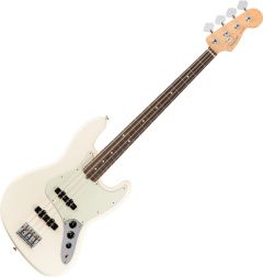 Fender American Pro Jazz Bass Electric Guitar Olympic White 0193900705