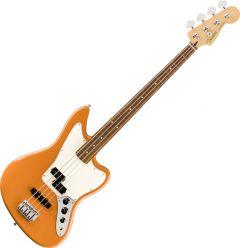 Fender Player Jaguar Bass Electric Guitar Capri Orange 0149303582