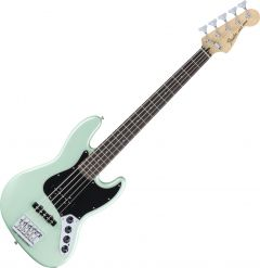 Fender Deluxe Active Jazz Bass Electric Guitar V Surf Pearl 0143613349