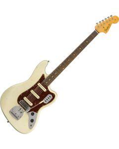 Fender Custom Shop Bass Electric Guitar VI Journeyman Relic Aged Olympic White 9235000539