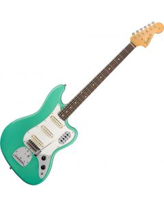 Fender Custom Shop 60s Journeyman Relic Bass Electric Guitar VI Aged Sea Foam Green 1560600849
