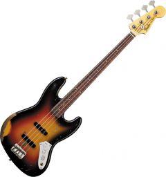 Fender Custom Shop Jaco Pastorius Tribute Jazz Bass Electric Guitar 3-Color Sunburst 0196108800