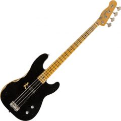 Fender Custom Shop Dusty Hill Signature Precision Bass Electric Guitar Black 0158602806