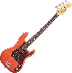 Fender Custom Shop Pino Palladino Signature Precision Bass Electric Guitar Fiesta Red over Desert Sand 0158200840