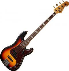 Fender Custom Shop 2011 Closet Classic Precision Bass Electric Guitar Pro Bleached 3-Color Sunburst 0157410890