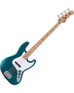 G&L Fullerton Standard JB Electric Bass Emerald Blue Metallic FS-JB-EMB-MP
